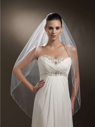 The Berger Collection for Mon Cheri Veil Style 9441 | House of Brides