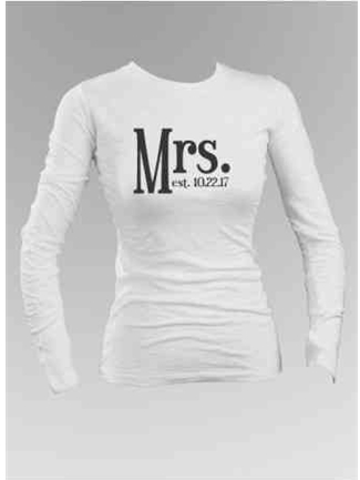 Mrs. Long Sleeve Shirt