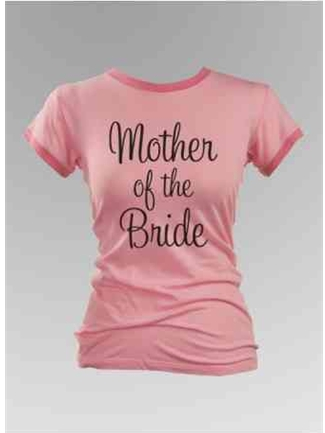 Mother of the Bride Ringer Tee