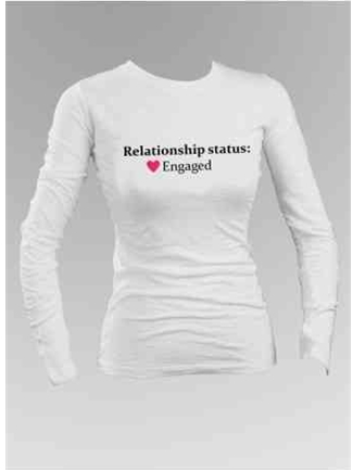 Relationship Status Long Sleeve Shirt