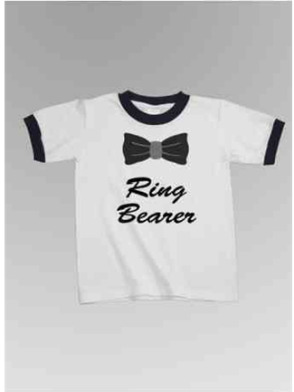 Ring Bearer Bow Ringer Tee