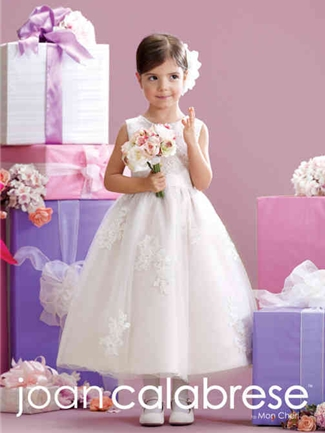 Joan Calabrese by Mon Cheri Flower Girl Dress Style 215341 | House of Brides