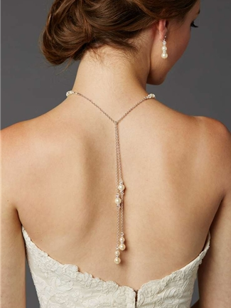 Mariell Necklace Style 4440N-LTI-CR-S | House of Brides