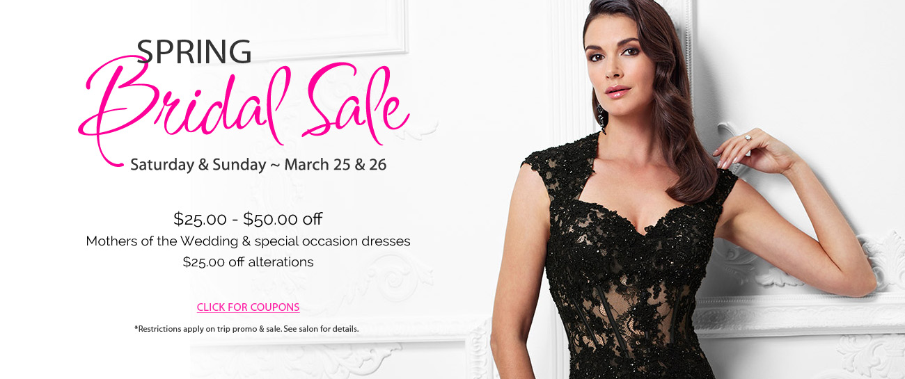 House of Brides Store Promotions