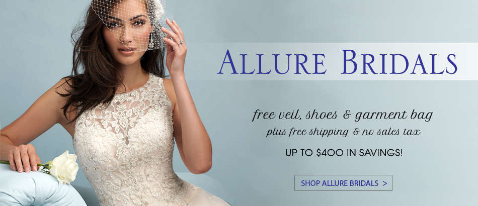 Allure Bridals Dresses at House of Brides