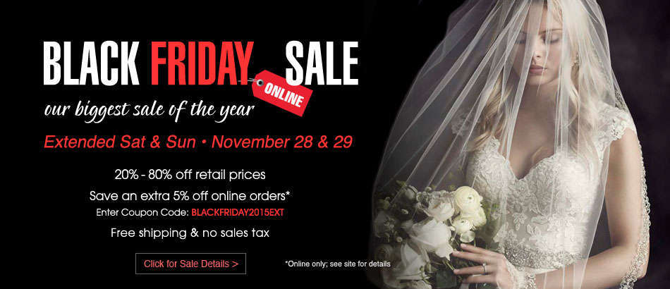 House of Brides Black Friday Sale
