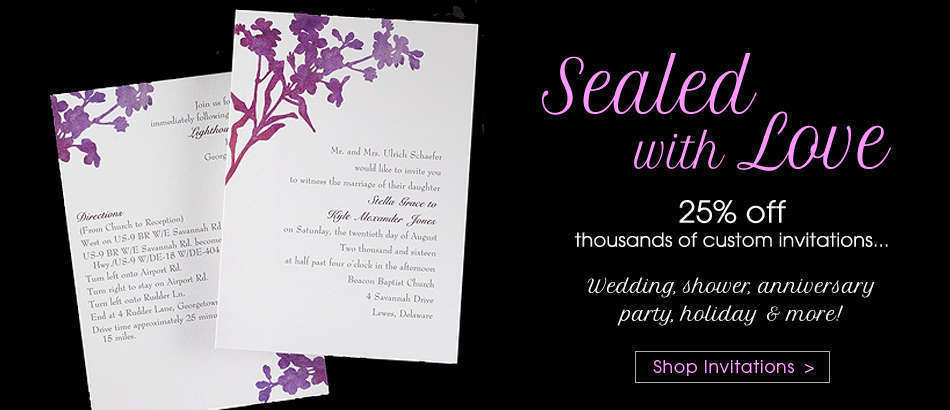 Invitations at House of Brides