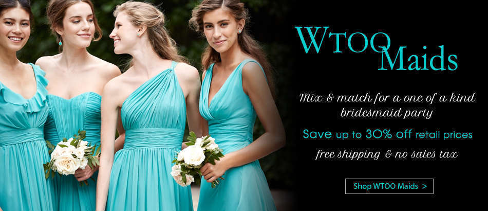 WToo Maids Bridesmaid Dresses at House of Brides
