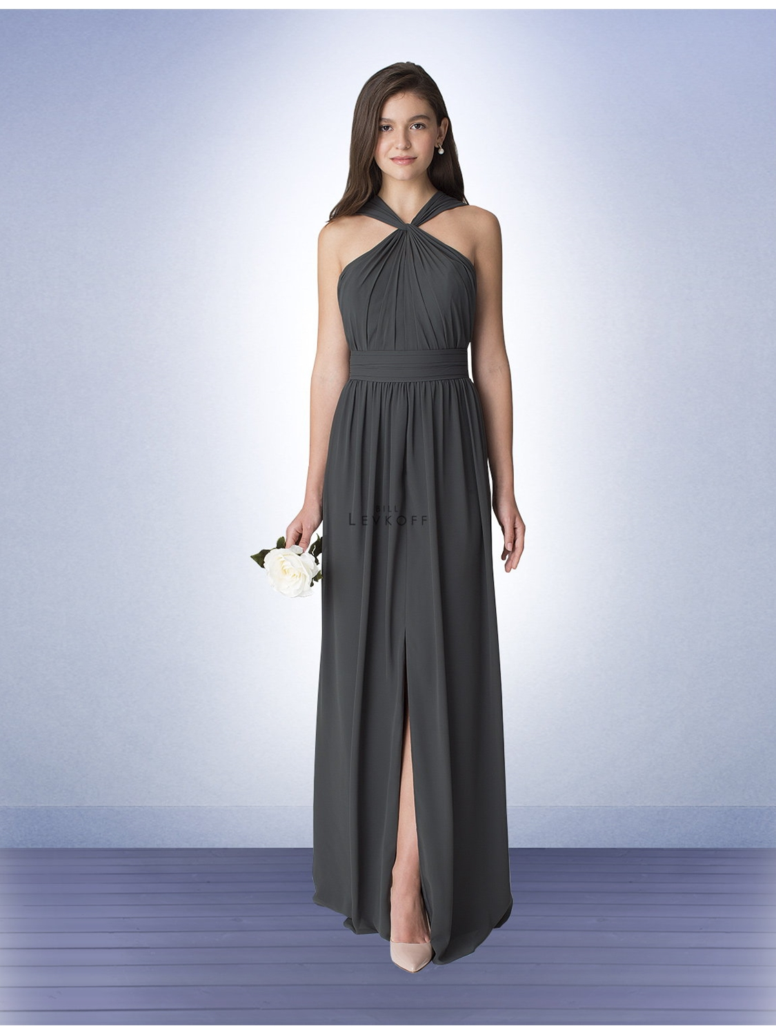 Bill levkoff bridesmaid dress style 1274 house of brides select color ombrellifo Image collections