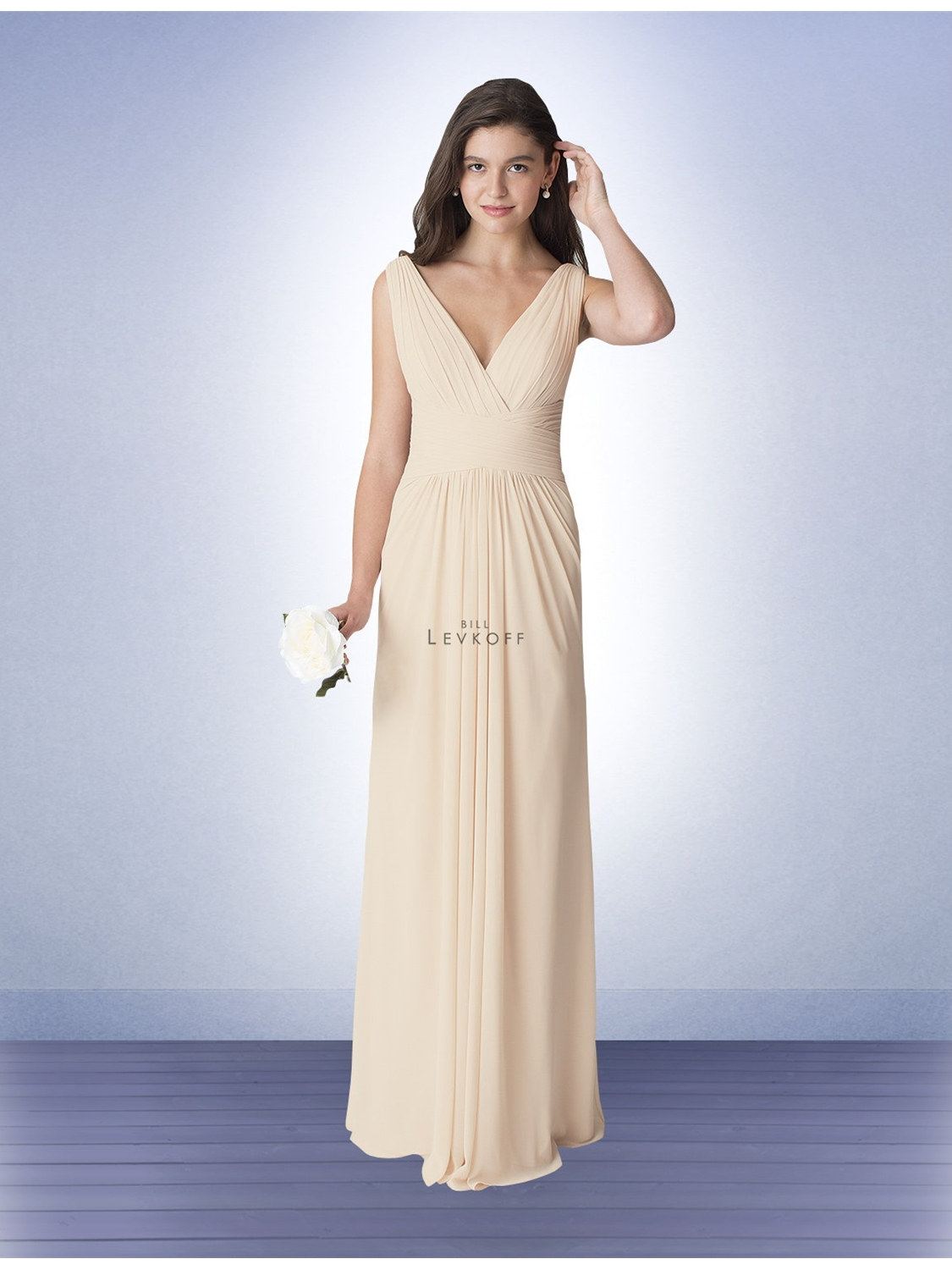 Bill levkoff bridesmaid dress style 1277 house of brides select color ombrellifo Images