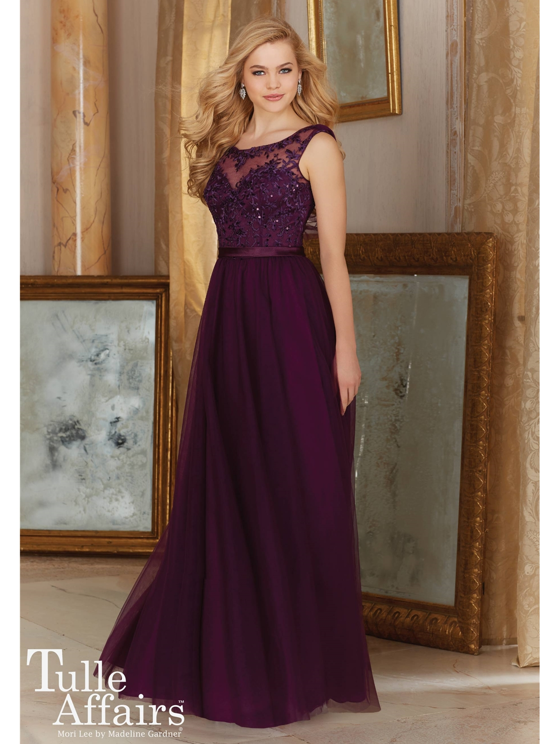 Mori lee bridesmaid dresses bridesmaid dress style 156 house of select color ombrellifo Image collections