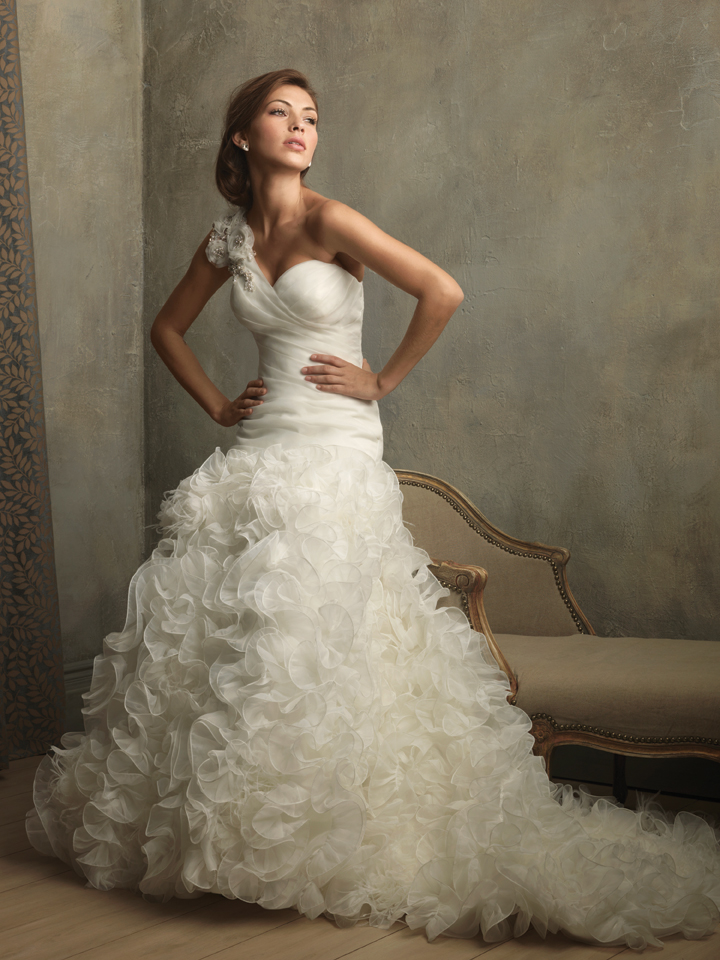 Allure Couture Wedding Dress Style C166