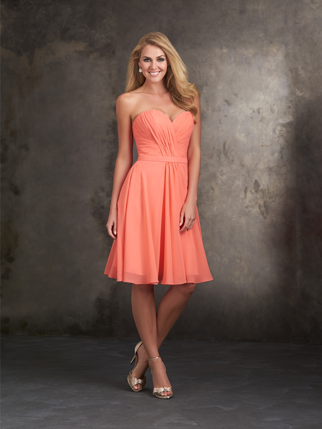 Allure bridesmaids bridesmaid dress style 1414 house of brides select color ombrellifo Images