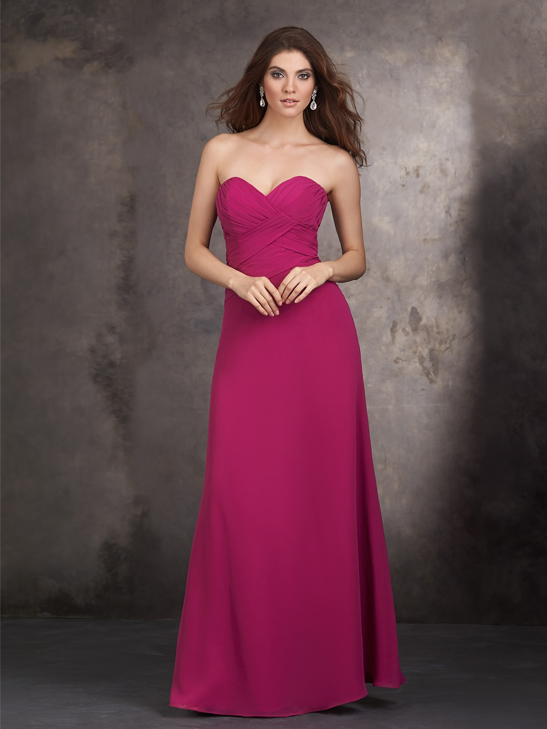 Allure bridesmaids bridesmaid dress style 1429 house of brides select color ombrellifo Images