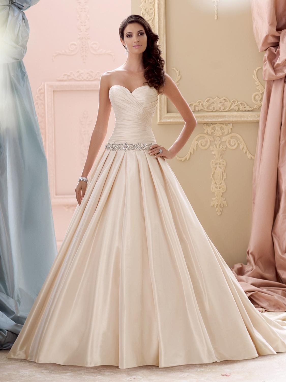 Select Color David Tutera for Mon Cheri Wedding Dress Style 115243   House of  . Mon Cheri Wedding Dresses. Home Design Ideas