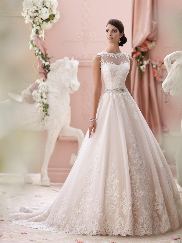 David Tutera for Mon Cheri Wedding Dress Style 115244 | House of ...