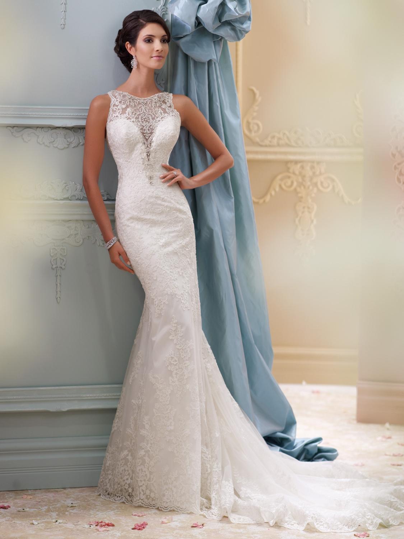 David Tutera for Mon Cheri Wedding Dress Style 115248 | House of ...