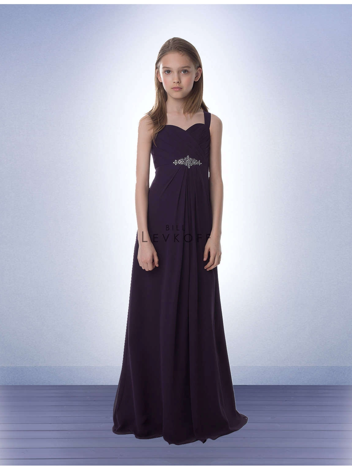 Bill levkoff junior bridesmaid dress style 77902 house of brides select color ombrellifo Image collections