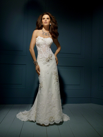 Sapphire by alfred angelo wedding dress style 850 house of brides junglespirit Choice Image