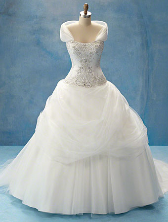 Disney Fairy Tale Weddings Wedding Dress Style Belle 206