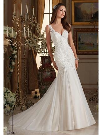 Mermaid style wedding dresses mermaid bridal gowns house of brides blu junglespirit Gallery