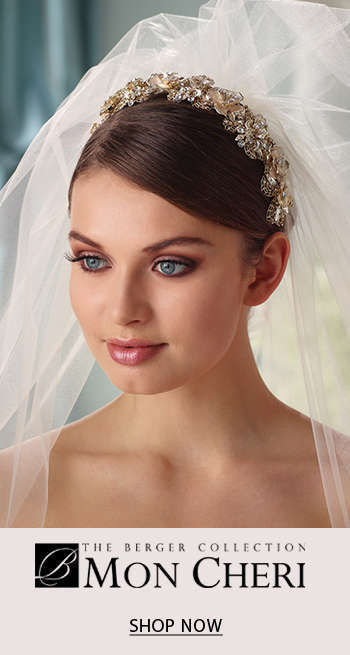 The Berger Collection for Mon Cheri Headpieces and Veils