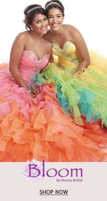 Bloom by Bonny Quinceanera Dresses
