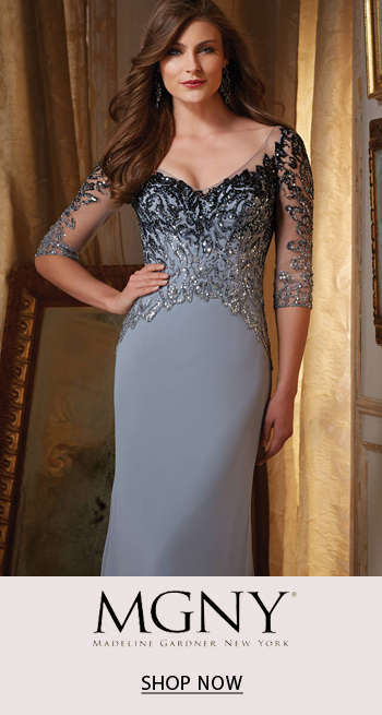 MGNY by Mori Lee Mothers Dresses