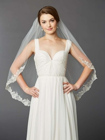 Mariell Veil Style  4414V-I-S | House of Brides