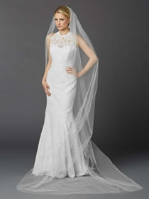 Mariell Veil Style 4433V-108-W | House of Brides
