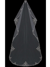 En Vogue Bridal Accessories Veils Style V704C-M | House of Brides