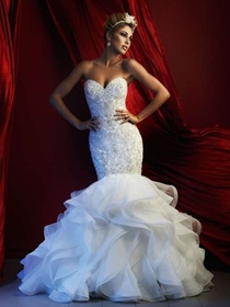 Allure Couture Wedding Dress Style C367 | House of Brides
