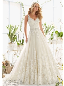 Mori Lee Wedding Dress Style 2821 | House of Brides