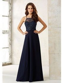 Mori Lee Bridesmaid Dress Style 21506 | House of Brides