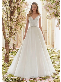 Voyage by Mori Lee Wedding Dress Style 6836 | House of Brides