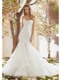 Voyage by Mori Lee Wedding Dress Style 6837 | House of Brides