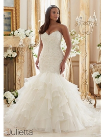 Julietta by Mori Lee Wedding Dress Style 3201 | House of Brides
