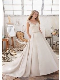 Mori Lee Wedding Dresses Dress Style 8103/Maclaine | House of Brides