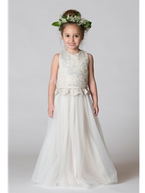Bari Jay Flower Girl Dress Style F7617 | House of Brides