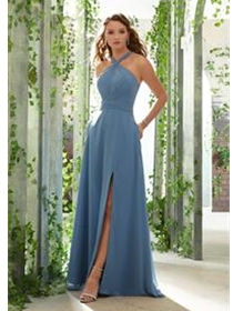 Mori Lee Bridesmaid Dress Style 21613W | House of Brides