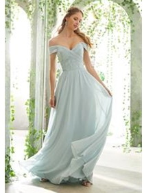 Mori Lee Bridesmaid Dress Style 21614W | House of Brides