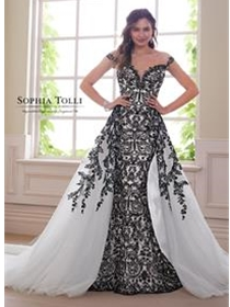 Sophia Tolli Bridals Wedding Dress Style Y21810B/Obsidian | House of Brides