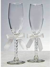 Jamie Lynn Wedding Accessories Style Toasting Glasses 10-4037 | Windy City Dress