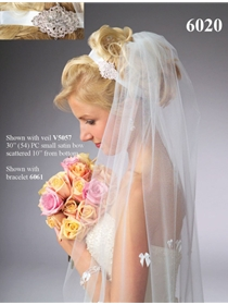 JL Johnson Bridals Veil Style V5057 | House of Brides