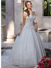 DaVinci Bridals Wedding Dress Style 8009 | House of Brides