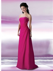 DaVinci Bridesmaids Bridesmaid Dress Style 9155 | House of Brides
