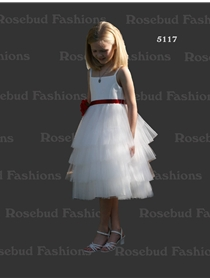 Rosebud Fashions Flowergirl Dress Style 5117 | House of Brides