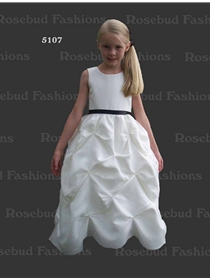 Rosebud Fashions Flowergirl Dress Style 5107 | House of Brides