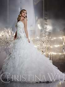 Christina Wu Wedding Dress Style 15546 | House of Brides