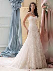 Martin Thornburg for Mon Cheri Wedding Dress Style 115237/Justice | House of Brides